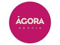 Agora Gràcia branding