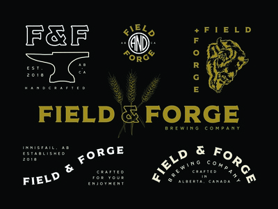 Field & Forge Brewing Brand Identity