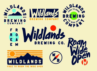 Wildland Brewing Brand Identity