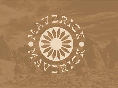 """Album Artwork for EHC's """"Maverick"""" EP album artwork album art sunflower record vinyl music brand identity design typography logo branding design branding illustration"""