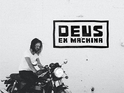 Deus Ex Machina - Keep Moving Forward branding t-shirt design apparel design tire wheel motorcycle illustration logo design graphic design deus customs deus ex machina deus