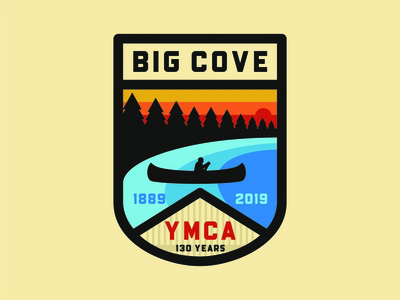 Big Cove YMCA - 130 Year Anniversary Badge