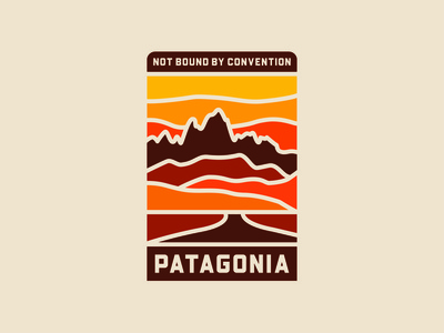 Not Bound By Convention - Concept for Patagonia