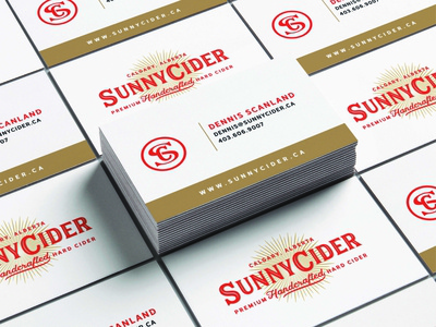 SunnyCider - Business Cards