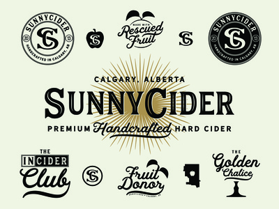 SunnyCider - Brand Lock-Up