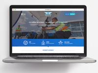 Çelebi Ground Handling Services Homepage Redesign