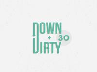 Down & Dirty Thirty Logo - Opt2