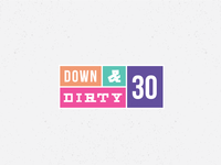Down & Dirty Thirty Logo - Opt3