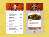 Daily UI 043 - Food/Drink Menu