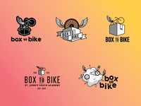 Box to Bike Logo Concepts