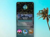 Wonderful Places travel app