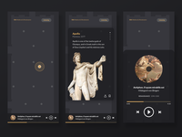 Museum experience guide app