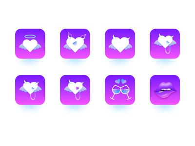 Obsolete version icon video icon ui