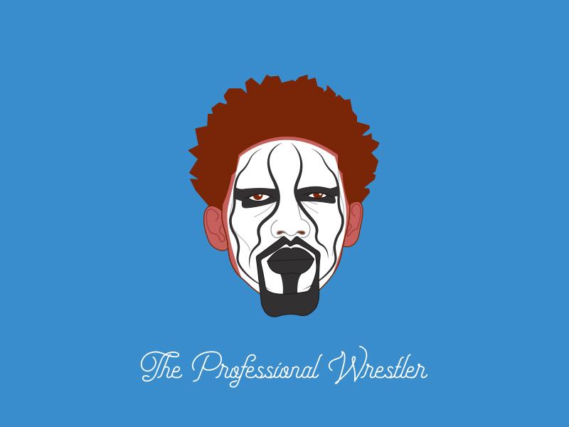 The pro wrestler