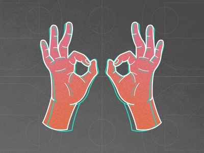 3 Goggles WIP illustration goggles ball hands shooter points 3 pointer three sports hoops nba basketball 3 goggles