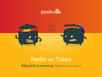 Spain vs. Holland - Poolville