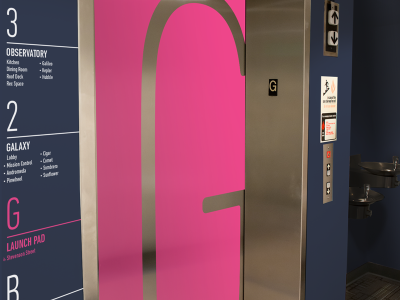 Mesosphere Office Mockup office mesosphere elevator floor menu way finding