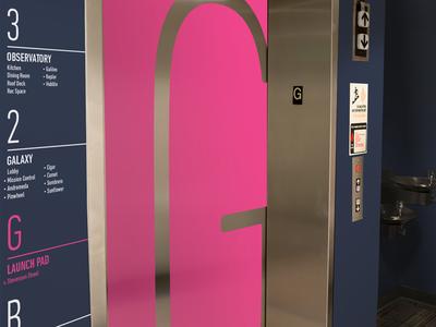 Mesosphere Office Mockup office mesosphere elevator floor menu way finding