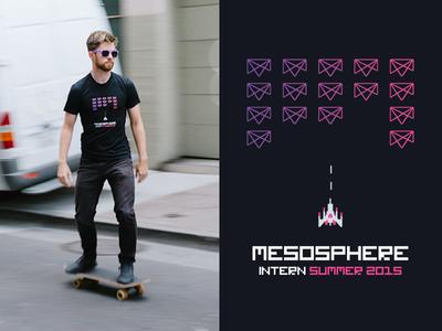 Mesosphere Intern Shirt galactica tshirt mesosphere interns