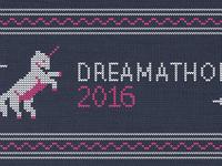 Dreamathon2016 branding 1