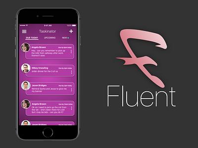 Fluent - Taskinator ios9 ios task