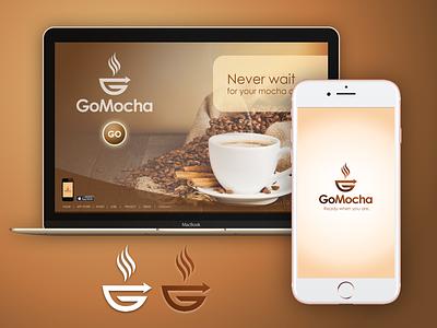 GoMocha -- Coffee on-the-go brand app desktop espresso ios brand coffee gomocha