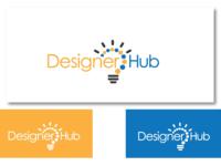 Inspirational Logo Design for Designer Hub