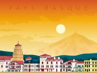 Travel poster st jean de luz portrait   catalogue 6
