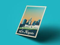 Travel poster los angeles portrait   catalogue 8