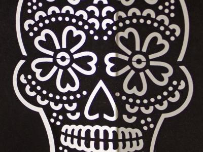 Dia De Los Muertos Laser Cut Card laser cut laser cut card dolcepress dia de los muertos