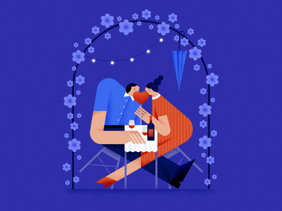 To Rome with Love ❤️ date night romantic romance design love graphic girl flat vector illustration graphic design character affinity designer