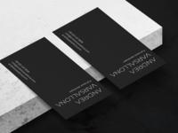 Andrea Varsallona - Full stack developer brand identity