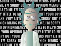 Opinions and Rick