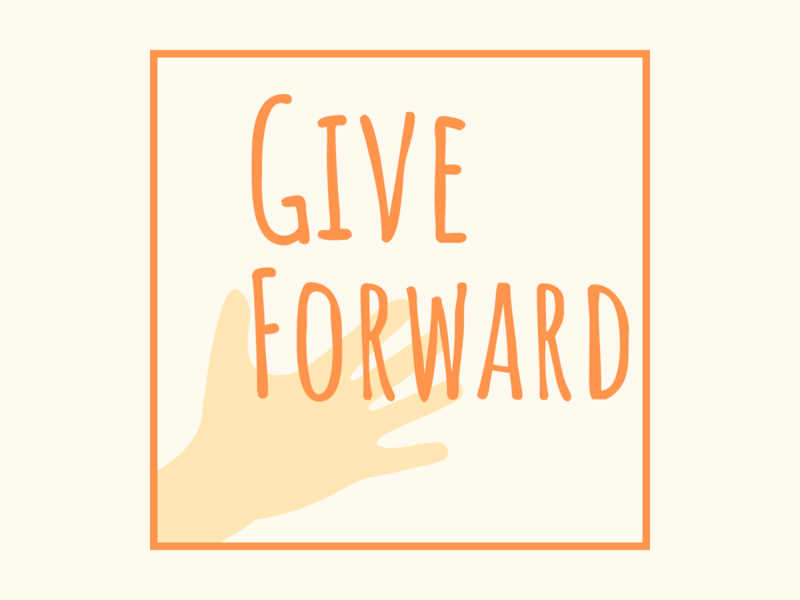 Give Forward Logo (Looking for feedback) give forward branding logo critique me looking for critique looking for feedback