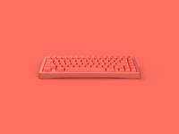 Bauer | 65% Custom Mechanical Keyboard | Pantone COTY