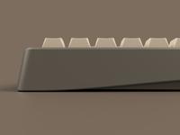 Bauer | 65% Mechanical Keyboard | Detail Shot