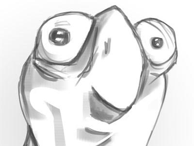 Birdrog speed paint frog bird birdrog