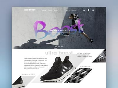 Adidas Redesign Concept