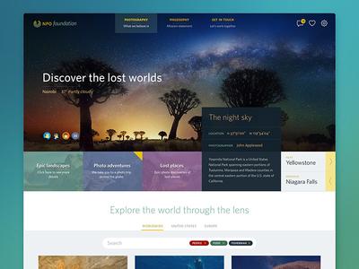 NPO Web Exploration