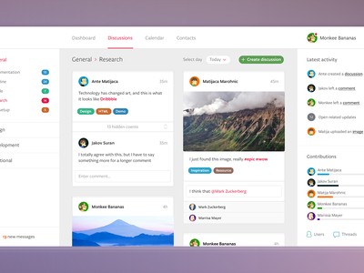 Dashboard dashboard flat simple ui ux project management
