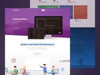 Profico Website Preview