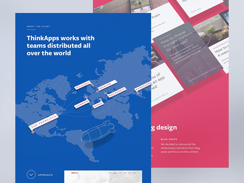 Thinkapps behance