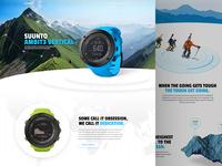 Suunto product page