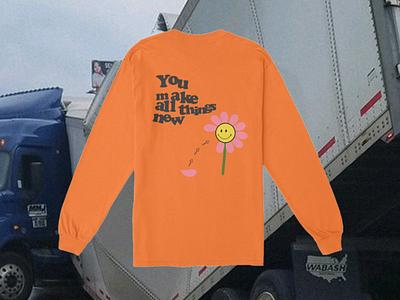 You Make All Things New fashion design fashion youth flower tshirt apparel merch apparel design clothing design shirt design shirt