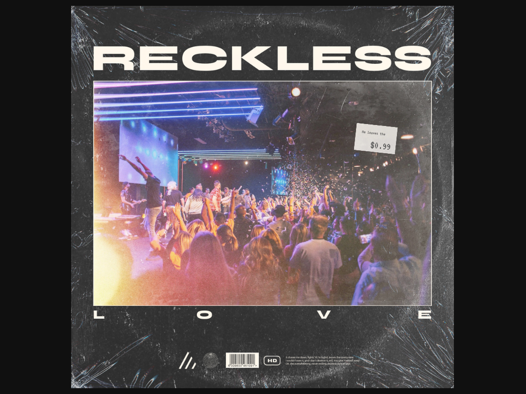 Reckless Love music ep cover cover design cover art album cover album artwork album art album
