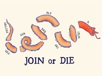 Join or Die - Secret Sandwich Society