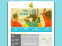 Education Bond Web Mock