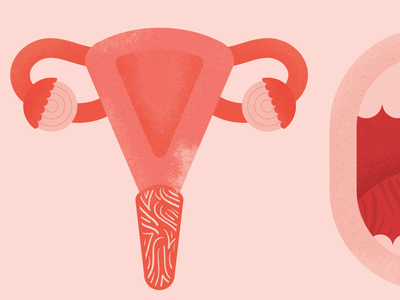 Vote Type/ Uterus vote believe women uterus typogaphy type illustration feminist