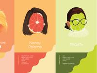 Nancy Paloma + RBG+T Cocktail Card