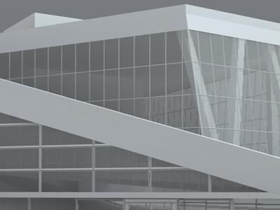 Oslo's Opera House 3d render oslo opera norway model c4d cinema4d white grey architecture